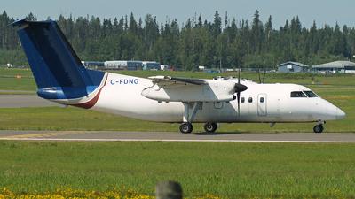A picture of CFDNG - De Havilland Canada Dash 8100 - Central Mountain Air - © Peter Kesternich