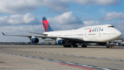 N666US - Boeing 747-451 - Delta Air Lines