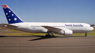 VH-RMD - Boeing 767-277 - Ansett Australia