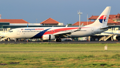 A picture of 9MMSB - Boeing 7378H6 - Malaysia Airlines - © M. Raykahn Ariga