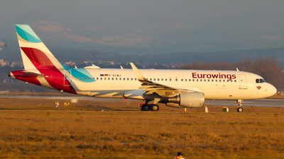 A picture of DAEWJ - Airbus A320214 - Eurowings - © Justin Stöckel