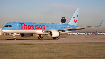 G-OOBC - Boeing 757-28A - Thomson Airways