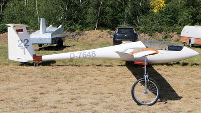 D-7648 - Schleicher ASW-20 - Private