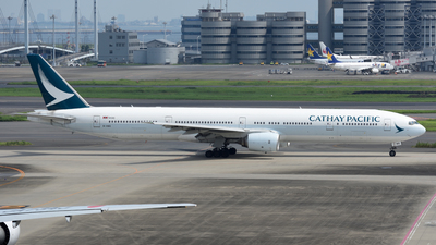 B-HNS - Boeing 777-31H - Cathay Pacific Airways