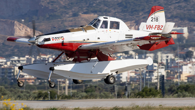 A picture of VHFBZ - Air Tractor AT802F - [8020460] - © Kostas Marmarelis