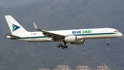 A picture of VTBDB - Boeing 75723N(PCF) - Blue Dart Aviation - © *DaVe*