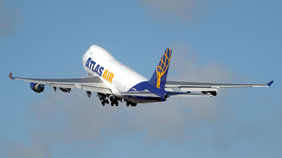 N485MC - Boeing 747-45EF(SCD) - Atlas Air