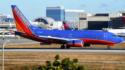 A picture of N7715E - Boeing 7377BD - Southwest Airlines - © Rocky Wang