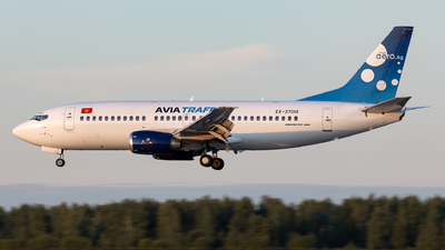 A picture of EX37010 - Boeing 7373L9 - Avia Traffic - © Sebastian Sowa