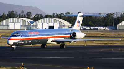 N481AA - McDonnell Douglas MD-82 - American Airlines