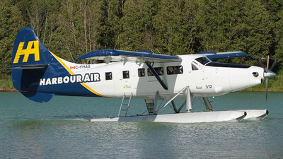 C-FHAS - De Havilland Canada DHC-3T Vazar Turbine Otter - Harbour Air