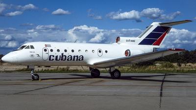 CU-T1442 - Yakovlev Yak-40 - Cubana de Aviación