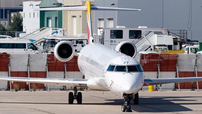A picture of ECJZT - Mitsubishi CRJ900ER - Air Nostrum - © Fabrizio Spicuglia