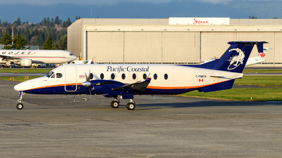 A picture of CFMCN - Beech 1900D - Pacific Coastal Airlines - © Chung Kwok