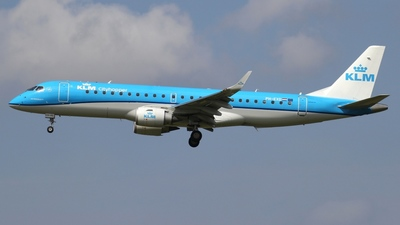 PH-EXD - Embraer 190-100STD - KLM Cityhopper