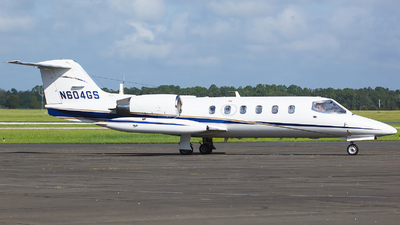 N604GS - Gates Learjet 35A - Private
