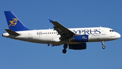 5B-DBP - Airbus A319-132 - Cyprus Airways