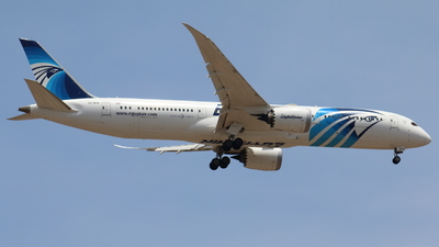 A picture of SUGEW - Boeing 7879 Dreamliner - EgyptAir - © Sander in West-Africa