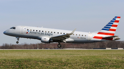 A picture of N127HQ - Embraer E175LR - American Airlines - © DJ Reed - OPShots Photo Team