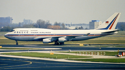 B-164 - Boeing 747-409 - China Airlines