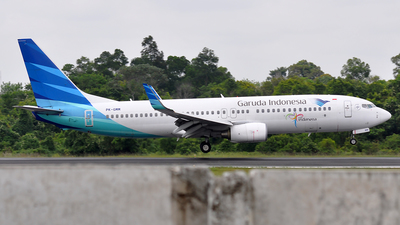 PK-GMM - Boeing 737-8U3 - Garuda Indonesia