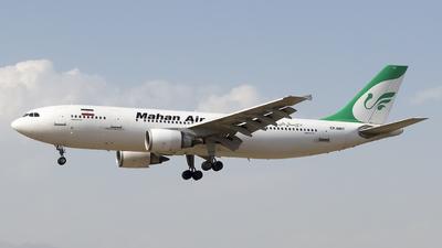 EP-MNT - Airbus A300B4-603 - Mahan Air