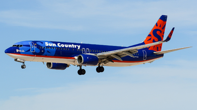 N818SY - Boeing 737-8BK - Sun Country Airlines