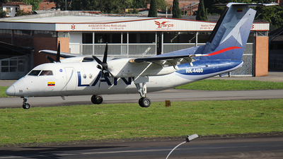 HK-4480 - Bombardier Dash 8-Q202 - LAN Colombia (Aires Colombia)