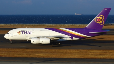 HS-TUB - Airbus A380-841 - Thai Airways International