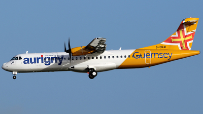 G-ORAI - ATR 72-212A(600) - Aurigny Air Services