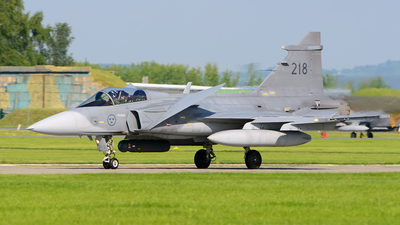 39218 - Saab JAS-39C Gripen - Sweden - Air Force