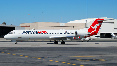 VH-NHY - Fokker 100 - QantasLink (Network Aviation)
