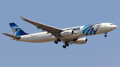 SU-GDV - Airbus A330-343 - EgyptAir