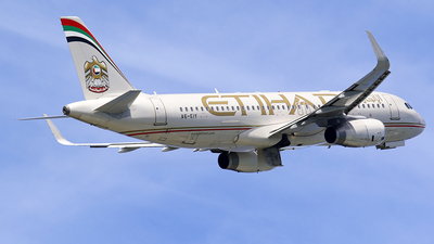 A6-EIY - Airbus A320-232 - Etihad Airways
