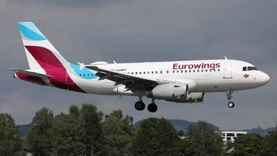 A picture of DAGWY - Airbus A319132 - Eurowings - © Karl Dittlbacher