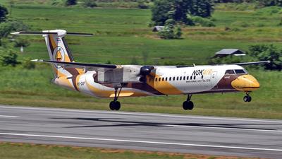 A picture of HSDQF - De Havilland Canada Dash 8400 - Nok Air - © Ratchapon Pipitsombat