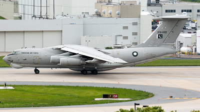 R10-002 - Ilyushin IL-78M Midas - Pakistan - Air Force