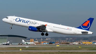 TC-OEA - Airbus A321-231 - Onur Air