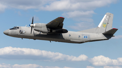 49 - Antonov An-26 - Ukraine - Air Force