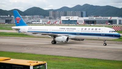 A picture of B6356 - Airbus A321231 - China Southern Airlines - © George Ma