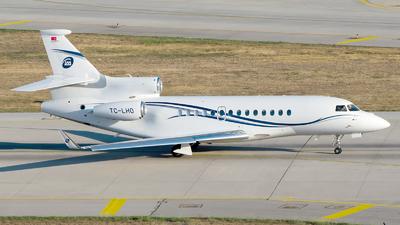 TC-LHO - Dassault Falcon 7X - Limak Aviation