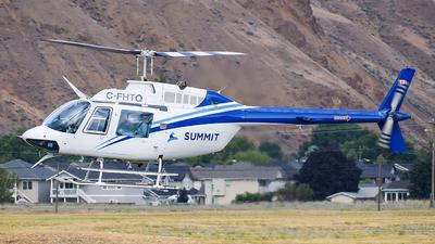 A picture of CFHTQ - Bell 206B JetRanger III - [1030] - © Santiago Arias