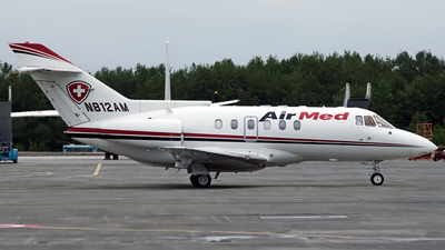 N812AM - British Aerospace BAe 125-800A - Air Med