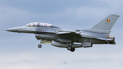 FB-17 - General Dynamics F-16BM Fighting Falcon - Belgium - Air Force
