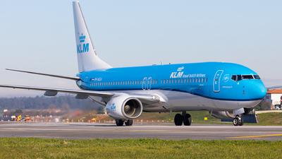 A picture of PHBGA - Boeing 7378K2 - KLM - © Carlos Miguel Seabra