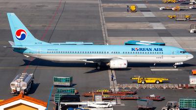 A picture of HL7718 - Boeing 7379B5 - Korean Air - © Lee Jihun
