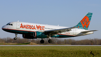 N827AW - Airbus A319-132 - America West Airlines