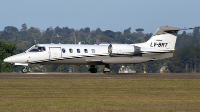 LV-BRT - Gates Learjet 35A - Private
