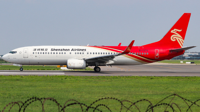 A picture of B1376 - Boeing 73787L - Shenzhen Airlines - © AGUIJUN-Lei