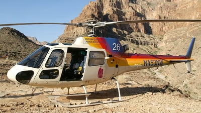 N453NW - Eurocopter AS 350B2 Ecureuil - Papillon Grand Canyon Helicopters